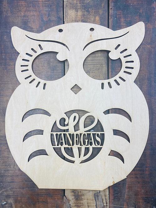 Owl Monogram
