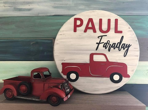 Vintage Truck Name