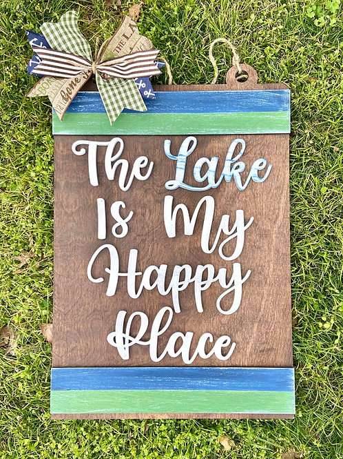 Lake is my Happy Place