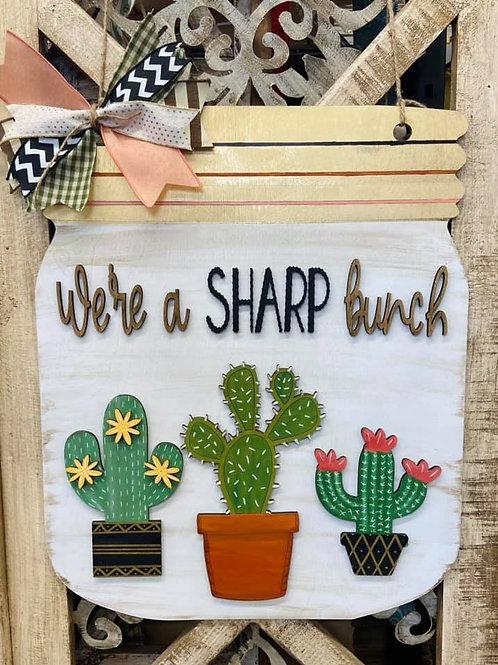 Sharp Bunch Mason Jar