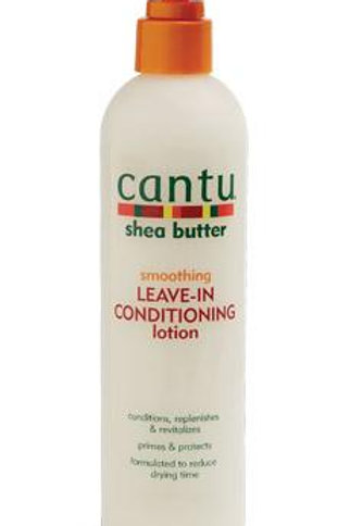 CANTU SHEA BUTTERSMOOTHING LEAVE-IN CONDITIONING LOTION 10OZ