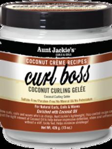 AUNT JACKIE'S™ COCONUT CRÈME RECIPES CURL BOSS Coconut Curling Gèlee