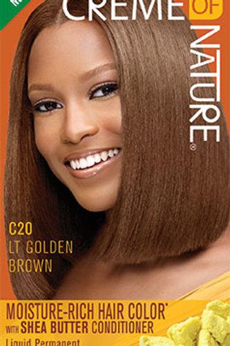 CREME OF NATURE MOISTURE-RICH COLOR Light Golden Brown