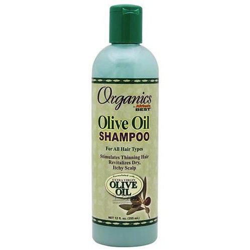 AFRICA'S BEST Organics Olive Oil Shampoo 12oz