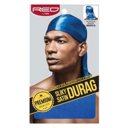 RED BY KISS SILKY SATIN DURAG - ROYAL BLUE