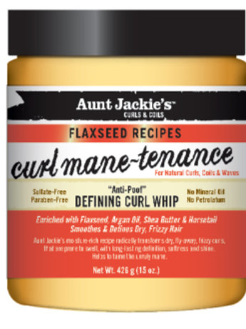 AUNT JACKIE'S™ CURL MANE-TENANCE. Defining Curl Whip.