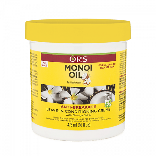 ORS Monoi Oil Anti-Breakage Leave-In Conditioning Crème