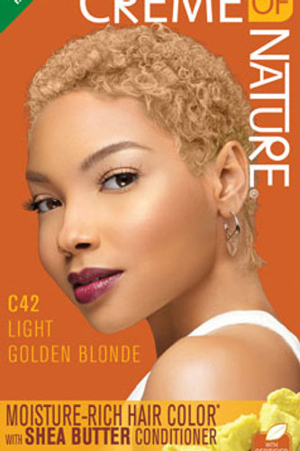 CREME OF NATURE MOISTURE-RICH COLOR Light Golden Blonde