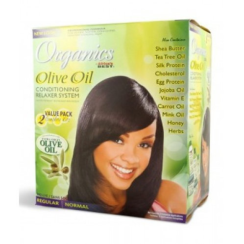Africans Best Organics Twin Pack Olive Oil Normal Relaxer