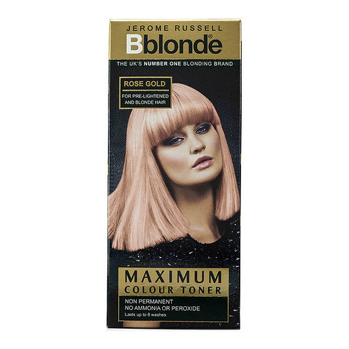 Maximum Colour Toner Rose Gold