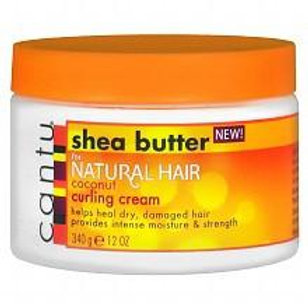 CANTU SHEA BUTTER NATURAL HAIR COCONUT CURLING CREAM 12 OZ