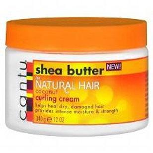 CANTU SHEA BUTTER NATURAL HAIR COCONUT CURLING CREAM 12 OZ