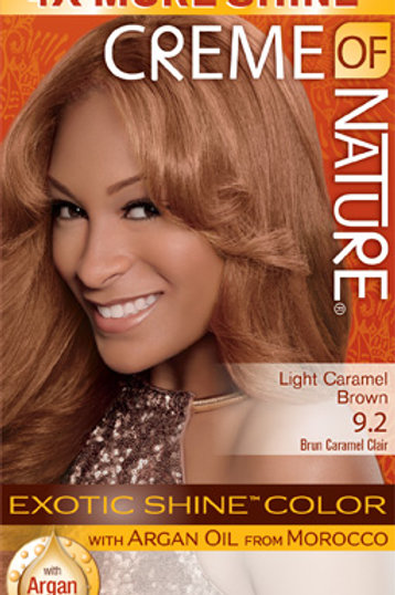 CREME OF NATURE EXOTIC SHINE™ COLOR Light Caramel Brown