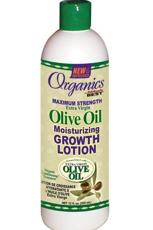 AFRICA'S BEST Originals Olive Oil Moisturizing Growth Lotion 12 oz