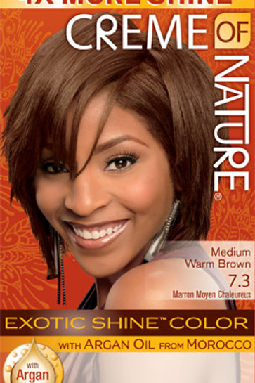 CREME OF NATURE EXOTIC SHINE™ COLOR Medium Warm Brown