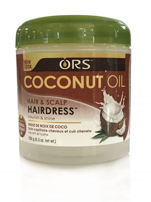 Coconut Oil Hair and Scalp Hairdress