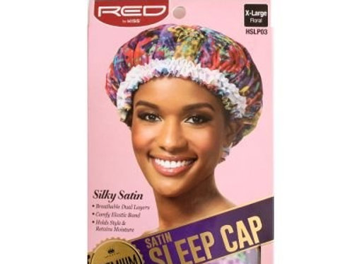 RED BY KISS SATIN SLEEP CAP