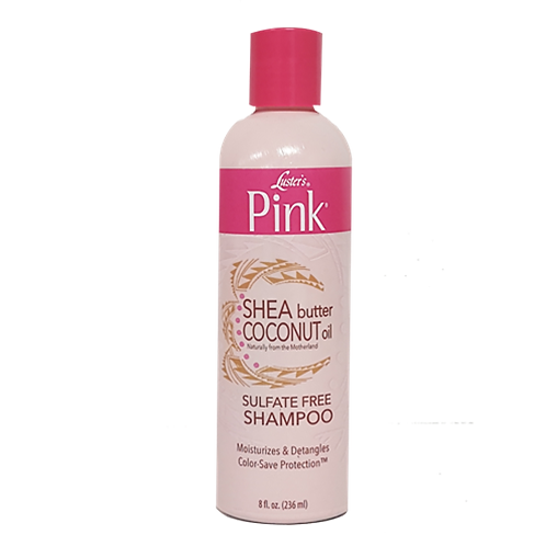 LUSTER'S PINK Shea Butter & Coconut Oil Sulfate Free Shampoo 12oz