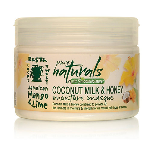 PURE NATURALS with Smooth Moisture Coconut Milk & Honey Moisture Masque