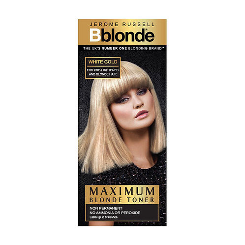 Maximum Blonde Toner White Gold
