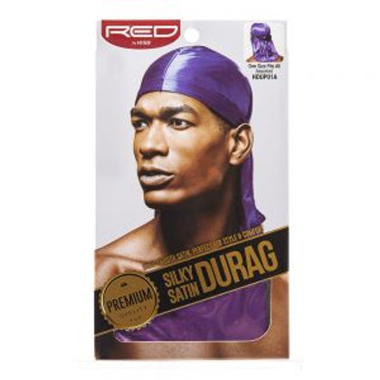 RED BY KISS SILKY SATIN DURAG - PURPLE