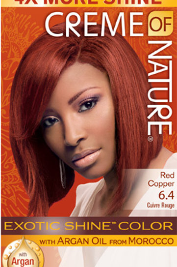 CREME OF NATURE EXOTIC SHINE™ COLOR Red Copper
