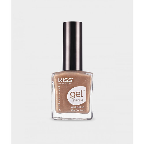 KSNY GEL STRONG NAIL POLISH Gold Mine