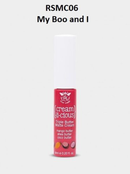 RK CREAM LICIOUS TRIPLE BUTTER MATTE LIP CREAM RSMC06 - My Boo And I