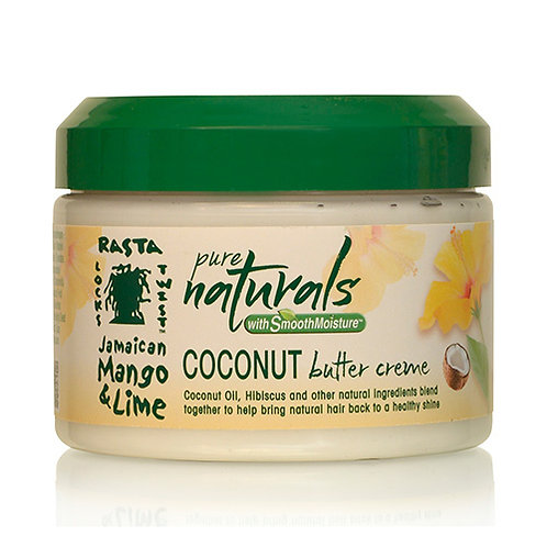PURE NATURALS with Smooth Moisture Coconut Oil Butter Crème