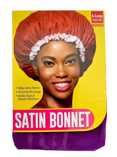 RED BY KISS SATIN BONNET