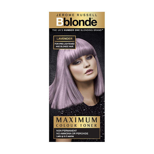 Maximum Colour Toner Lavender