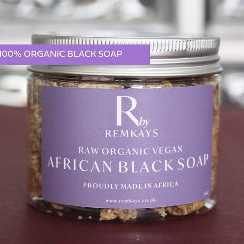 R BY REMKAYS ORGANIC AFRICAN BLACK SOAP