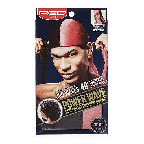 RED BY KISS Power Wave Duo Color Fashion Durag