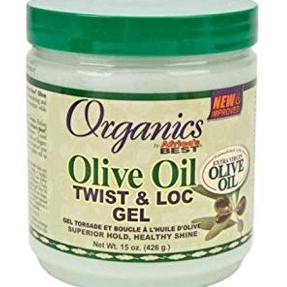 AFRICA'S BEST Originals Olive Oil Twist & Loc Gel 15 oz