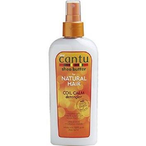CANTU SHEA BUTTER NATURAL HAIR COIL CALM DETANGLER 8OZ