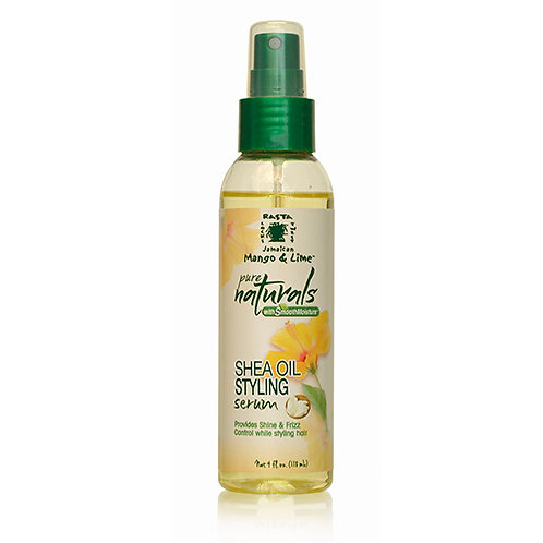 PURE NATURALS with Smooth Moisture Shea Oil Styling Serum (4 oz