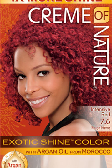CREME OF NATURE EXOTIC SHINE™ COLOR Intensive Red