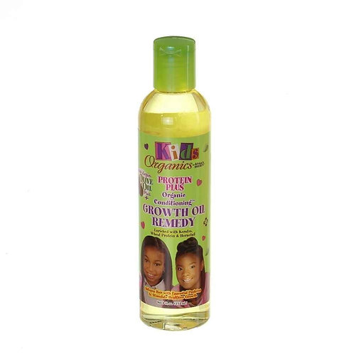 AFRICA'S BEST Organic Kids Protein Plus Growth Oil Remedy 8 oz