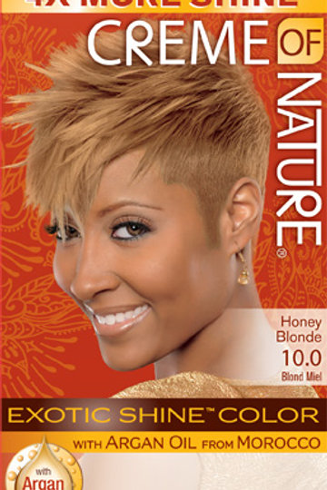 CREME OF NATURE EXOTIC SHINE™ COLOR Honey Blonde
