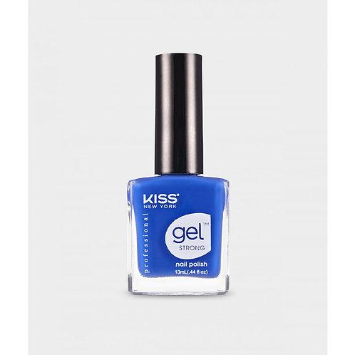 KSNY GEL STRONG NAIL POLISH Stunning Blue
