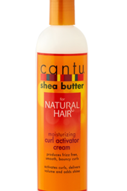 CANTU SHEA BUTTERNATURAL HAIR MOISTURIZING CURL ACTIVATOR CREAM 12 OZ