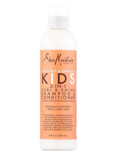 SHEA MOISTURE KIDS Curl & Shine 2-in-1 Shampoo & Conditioner