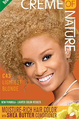CREME OF NATURE MOISTURE-RICH COLOR Lightest Blonde