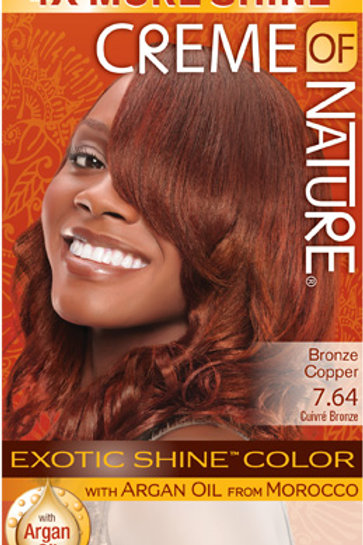 CREME OF NATURE EXOTIC SHINE™ COLOR Bronze Copper