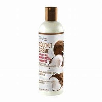 AFRICA'S BEST Originals Coconut Creme Sulfate-Free Moisturizing Shampoo 12oz