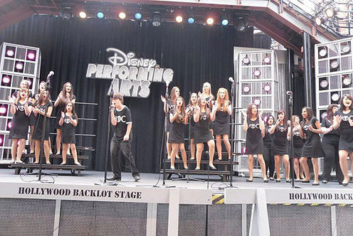 perform at disneyland