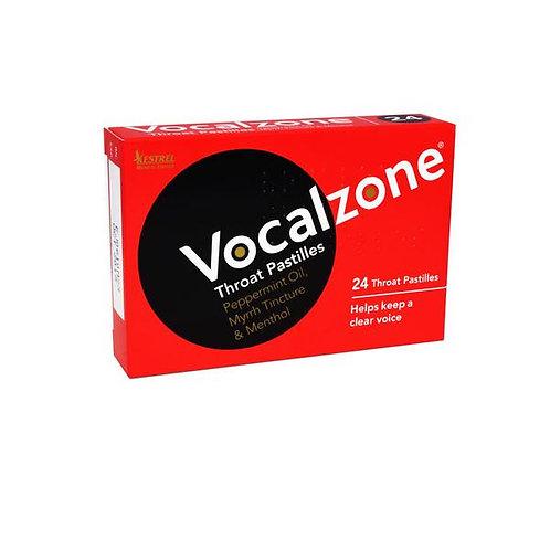 VOCAL ZONE THROAT PASTILLES