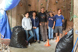 Students work with Maine Adaptive to clean up Bethel Big Adventure to offer an adaptive climbing program