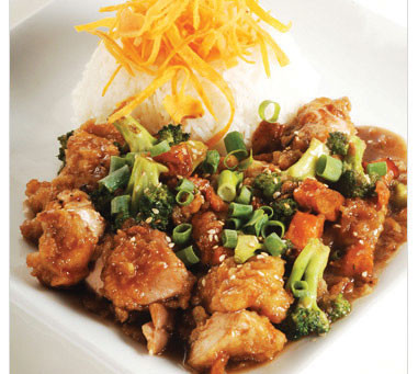 Spicy Asian Orange Chicken: One of my absolute favorites!