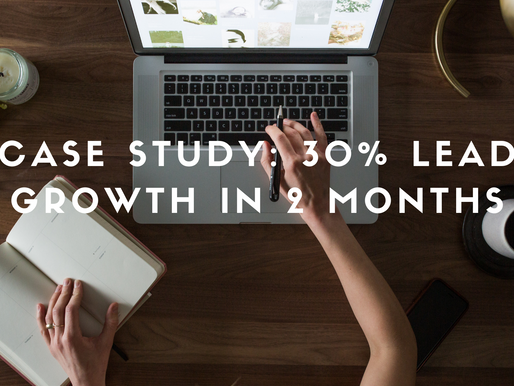 Content Strategy Case Study: How I Grew A Construction Company's Sales Leads 30% in 2 Months